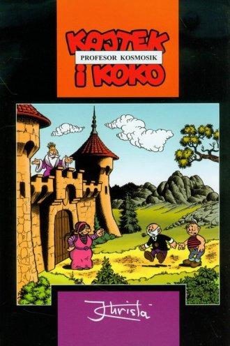 Kajtek i Koko. Profesor Kosmosik - okładka książki