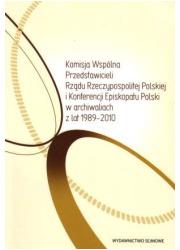 Komisja Wspólna Przedstawicieli - okładka książki