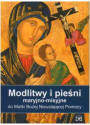 Modlitwy i pieśni maryjno - misyjne - okładka książki