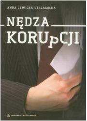 Nędza korupcji - okładka książki