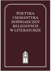 Poetyka i semantyka doświadczeń - okładka książki