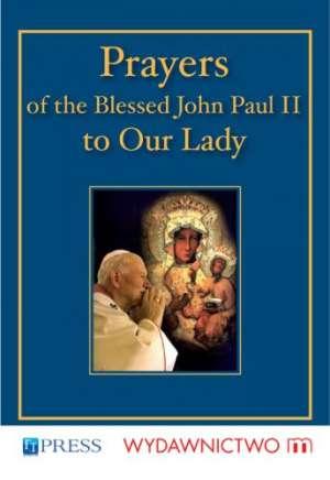 Prayers of the blessed John Paul - okładka książki