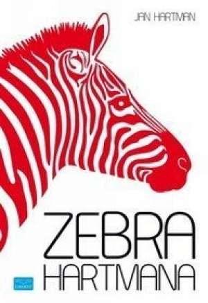 Zebra Hartmana - okładka książki