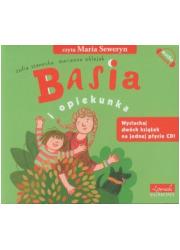 Basia i opiekunka (CD) - pudełko audiobooku