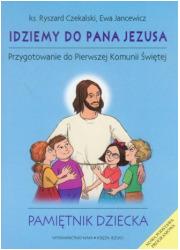 Idziemy do Pana Jezusa. Przygotowanie - okładka książki