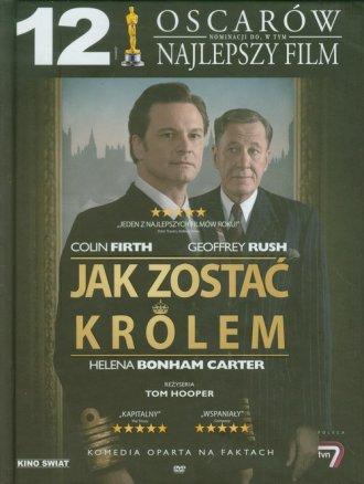 Jak zostać królem (+ DVD) - okładka książki