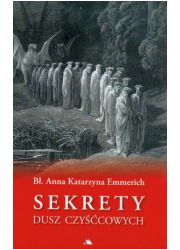 Sekrety dusz czyśćcowych - okładka książki