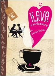 Kawa z kardamonem - okładka książki