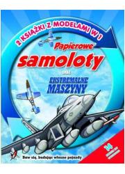 Papierowe samoloty oraz ekstremalne - okładka książki