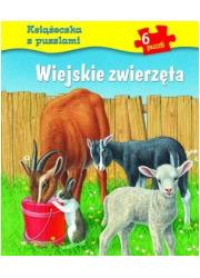 Wiejskie zwierzęta. Książeczka - okładka książki