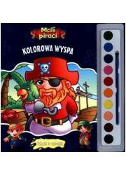 Kolorowa wyspa. Mali piraci. Plakaciki - okładka książki
