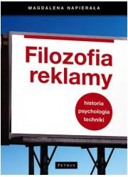 Filozofia reklamy - okładka książki
