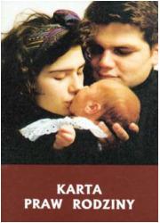 Karta praw rodziny - okładka książki
