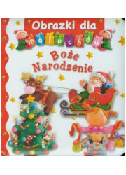 Obrazki dla maluchów. Boże Narodzenie - okładka książki
