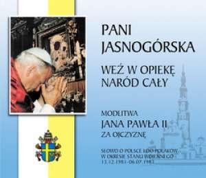 Pani Jasnogórska. Weź w opiekę - pudełko audiobooku