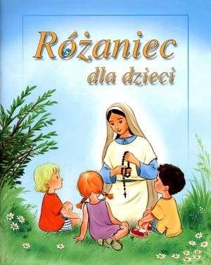 Różaniec dla dzieci - okładka książki