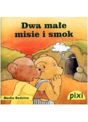 Dwa małe misie i smok - okładka książki