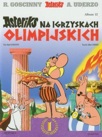 Asteriks. Album 12. Asteriks na - okładka książki