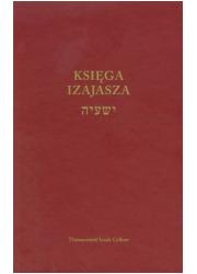 Księga Izajasza - okładka książki