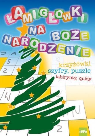Łamigłówki na Boże Narodzenie - okładka książki