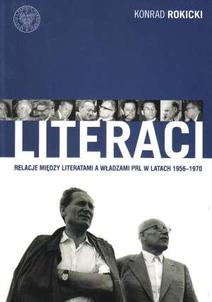Literaci. Relacje między literatami - okładka książki