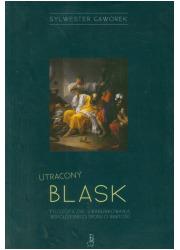 Utracony blask - okładka książki