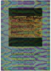 Ministri ecclesiae. Służba kościelna - okładka książki