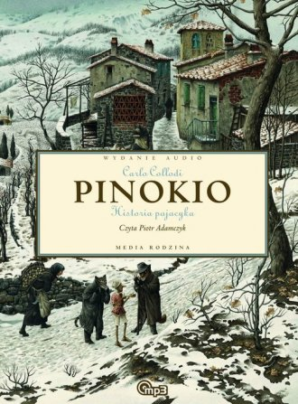 Pinokio (CD mp3) - pudełko audiobooku