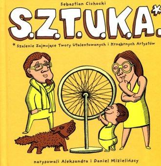 S.z.t.u.k.a. - okładka książki