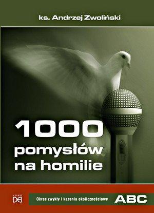 1000 pomysłów na homilie. Okres - okładka książki
