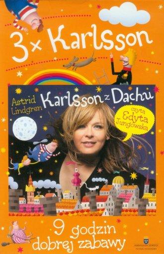 3 x Karlsson. Książka audio (CD - pudełko audiobooku