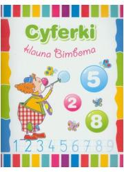 Cyferki klauna Bimboma - okładka książki