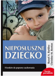 Nieposłuszne dziecko - okładka książki