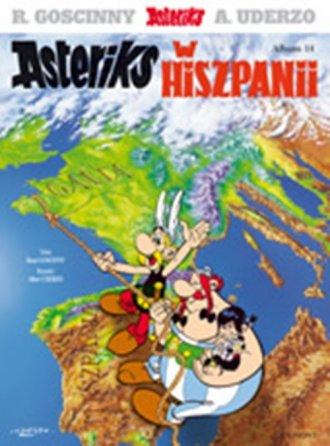 Asteriks. Album 14. Asteriks w - okładka książki