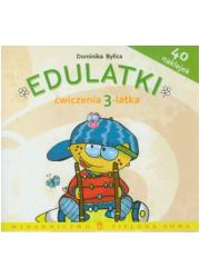 Edulatki. Ćwiczenia 3-latka - okładka książki
