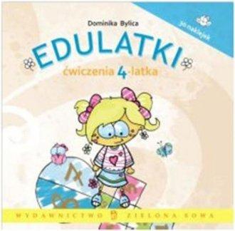 Edulatki. Ćwiczenia 4-latka - okładka książki