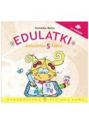 Edulatki. Ćwiczenia 5-latka - okładka książki