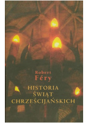 Historia świąt chrześcijańskich - okładka książki