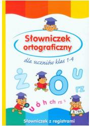 Słowniczek ortograficzny dla uczniów - okładka książki