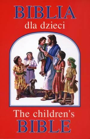 Biblia dla dzieci / The childrens - okładka książki