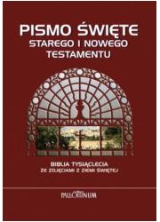 Biblia Tysiąclecia. Pismo Święte - okładka książki