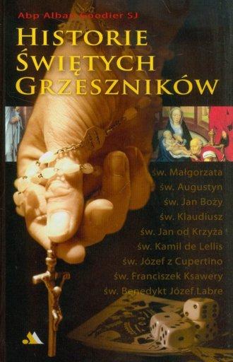 Historie świętych grzeszników - okładka książki