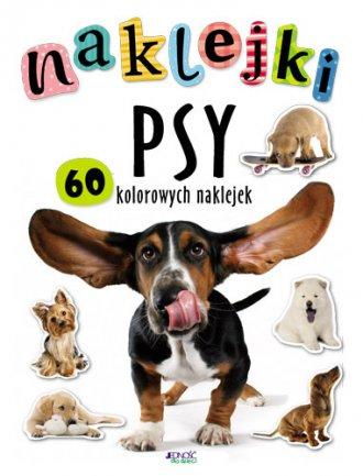 Psy. Naklejki - okładka książki