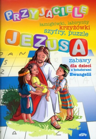 Przyjaciele Jezusa - okładka książki