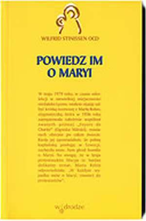 Powiedz im o Maryi - okładka książki
