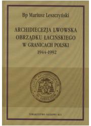 Archidiecezja lwowska obrządku - okładka książki