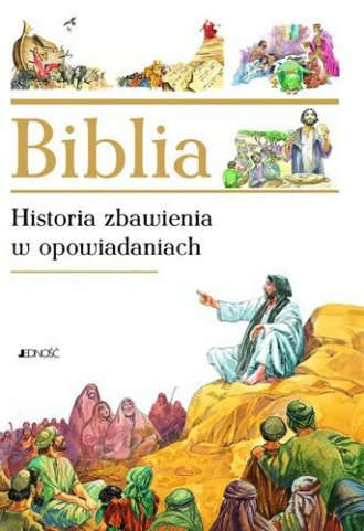 Biblia. Historia zbawienia w opowiadaniach - okładka książki