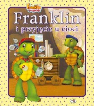 Franklin i przyjęcie u cioci - okładka książki