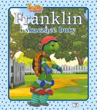 Franklin i skaczące buty - okładka książki