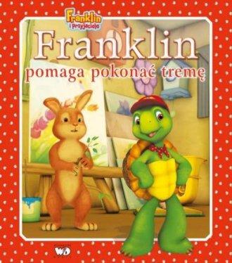 Franklin pomaga pokonać tremę - okładka książki